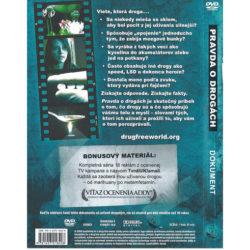 DVD Pravda o drogach – zadna