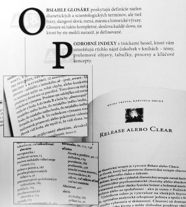 Knihy Dianetiky a Scientologie