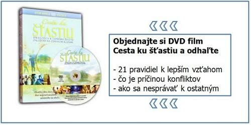 DVD Cesta ku stastiu