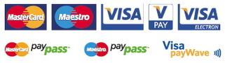 Príjmame aj platby kartou cez zabezpečenú bránu